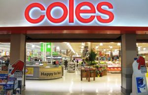 Coles - one of the big two supermarket chains